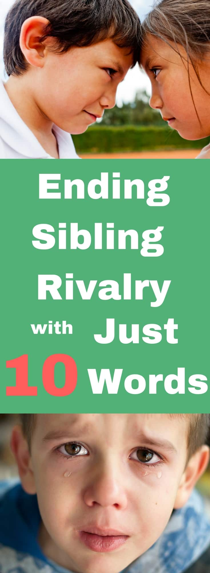 Ditch the Sibling rivalry books, Do this instead