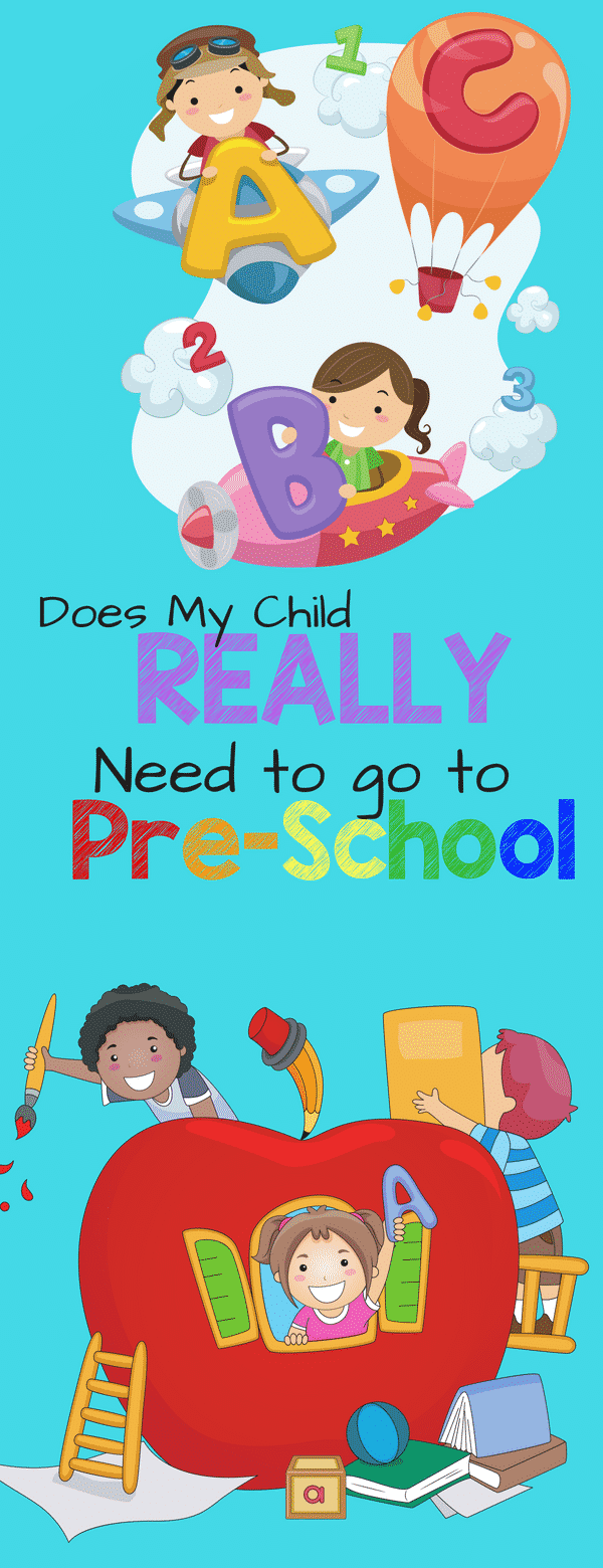 Does my child really need preschool? What are the real benefits of preschool and how will it affect your child if they don't attend.