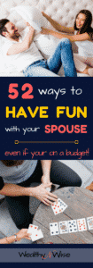 ways to have fun with your spouse