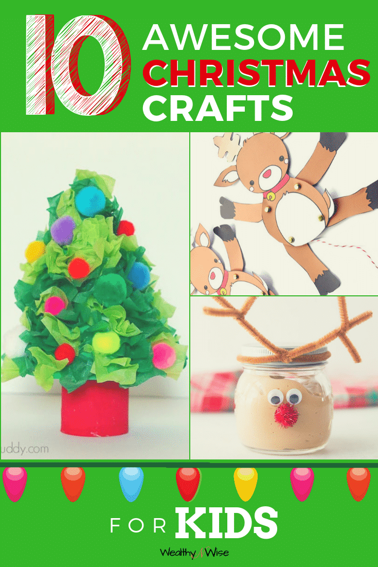 PIN NOW! Handicraft Round-up: 10 Adorable Christmas Craft Round-ups for Kid