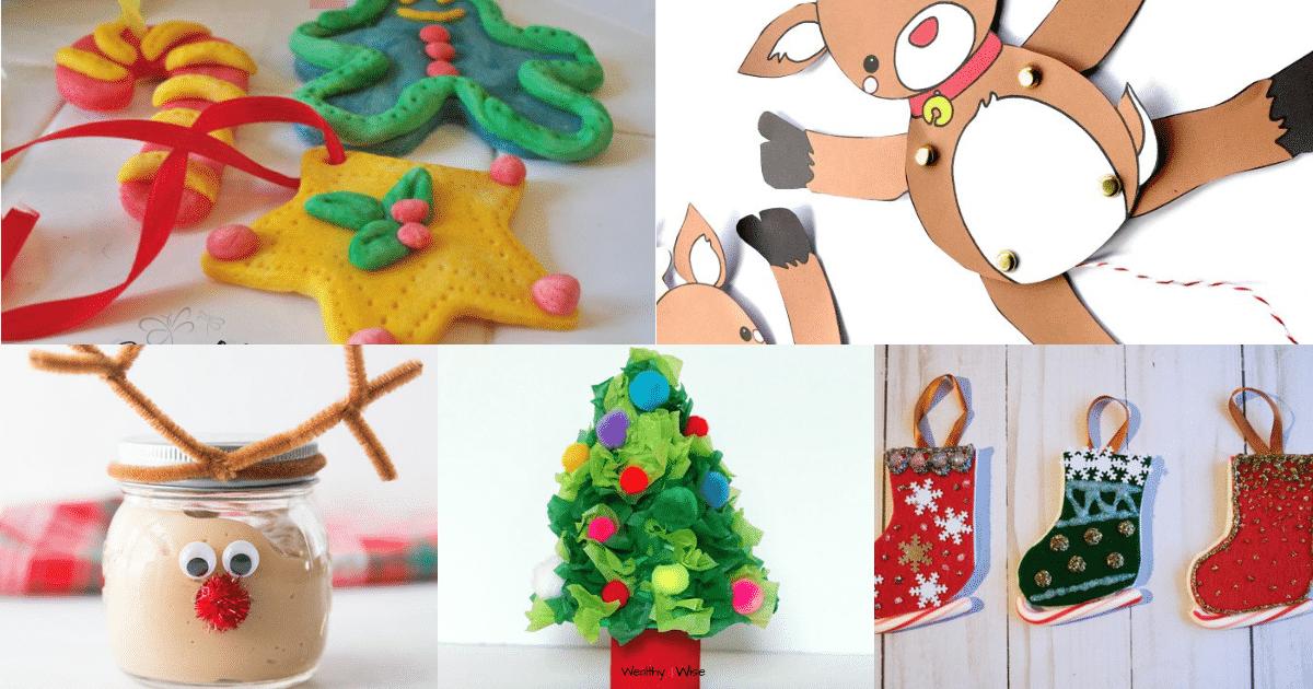 Christmas Handicrafts for Kids Round-up: 10 Best Christmas Crafts for Kids