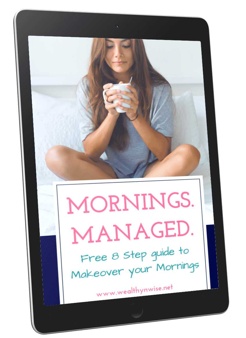 Makeover your morning and get more done with this free morning makeover guide