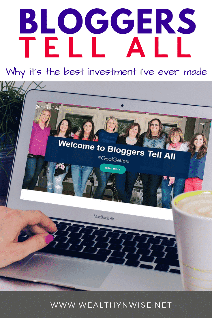 An honest review of Bloggers Tell All , The best blogging course for the least money