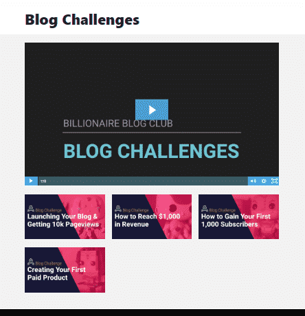 Dare to Conquer / Billionaire blog Club.  Whats inside.