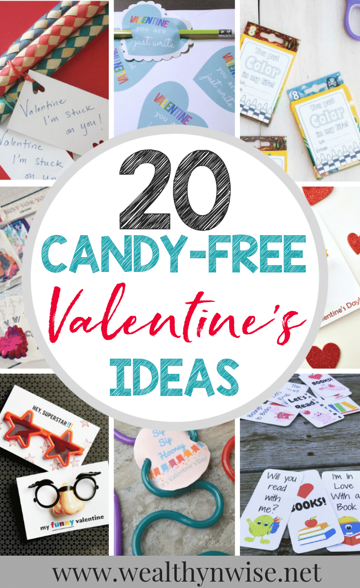 20 Adorable Candy Free Valentines ideas for your children to take to school