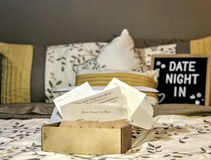 The Date Night In box was one of our absolute favorite date nights ever!