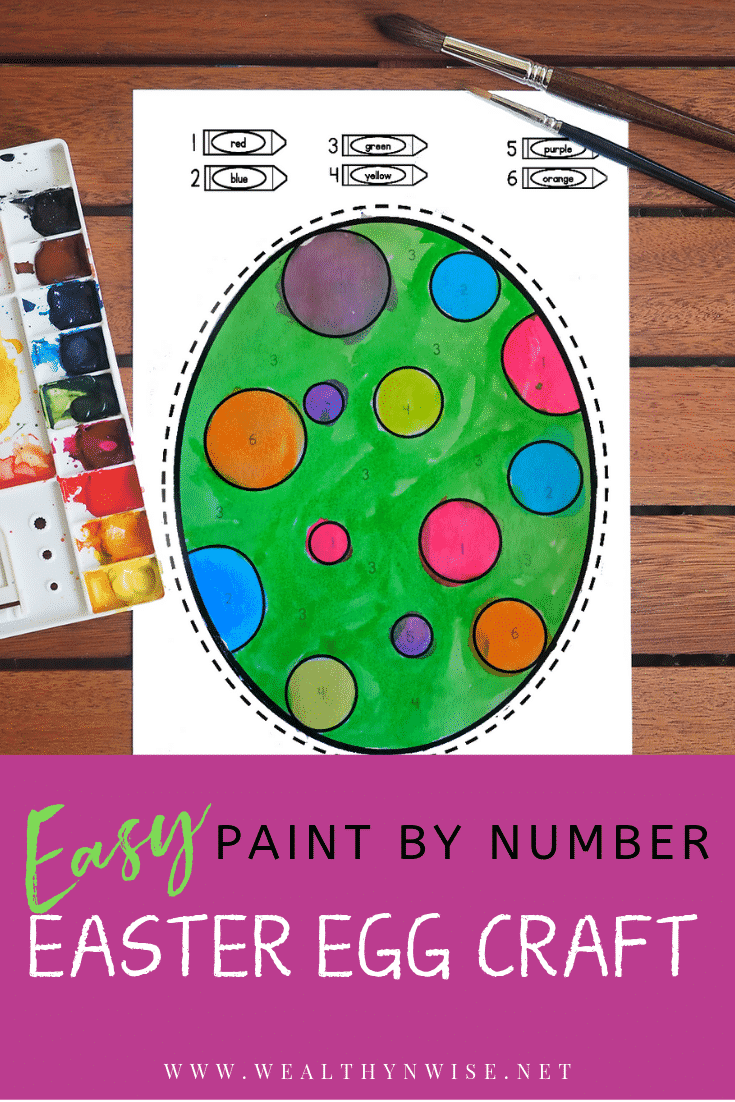 Quick easter egg craft
