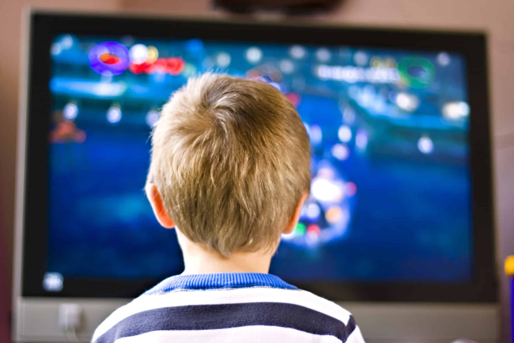 Child watching shows that promote language development