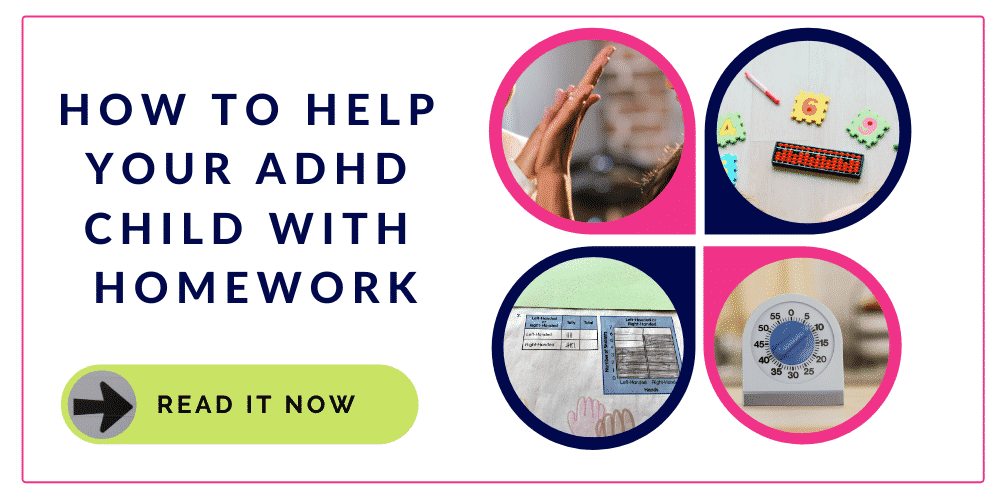 Help your ADHD Child with homework with these quick tips