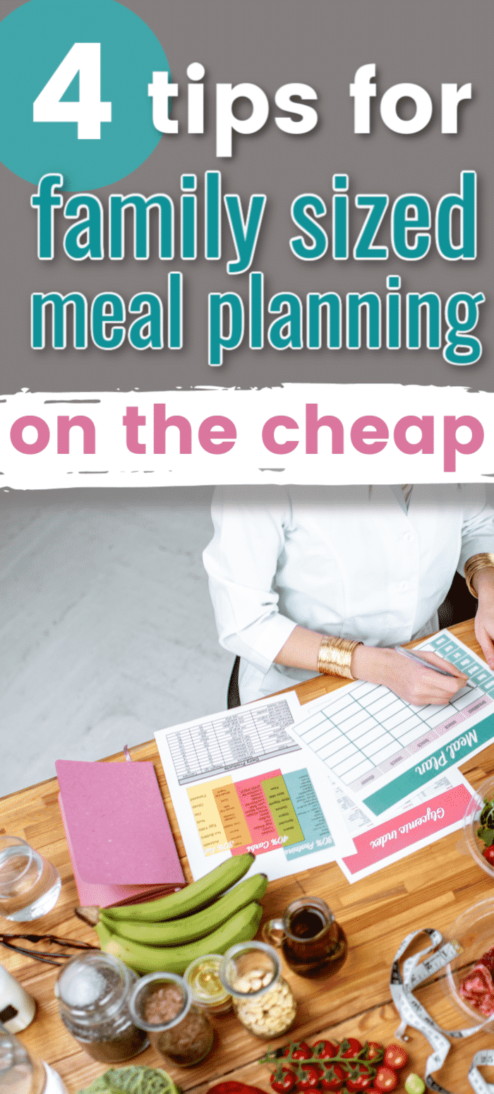 Eat Cheap: Frugal family meal planning tips