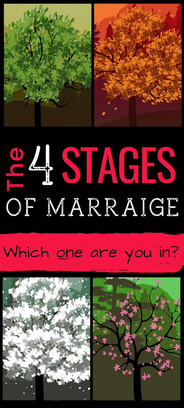 Marriage Stages: What they are and why they matter.