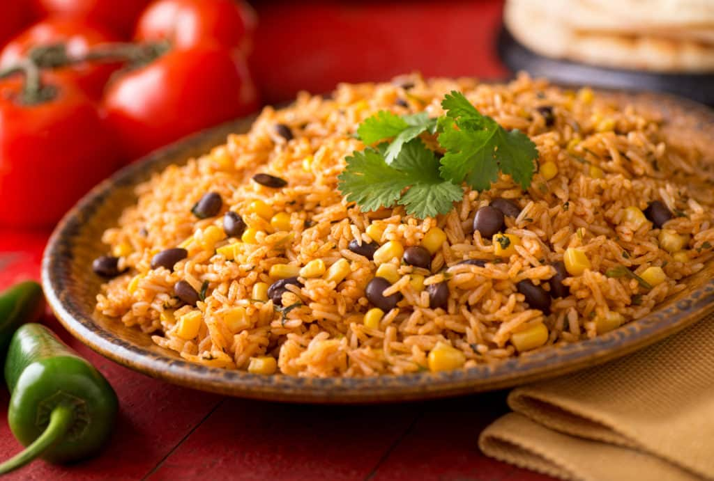 Rice and Beans are perfect for making inexpensive healthy meals