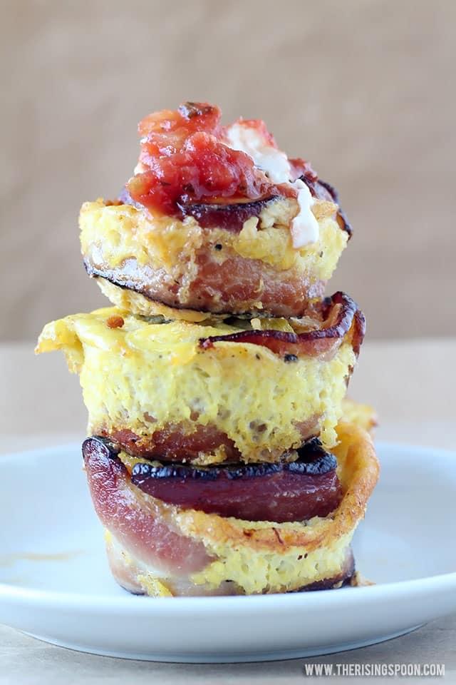 Tex-Mex Egg Breakfast Muffins