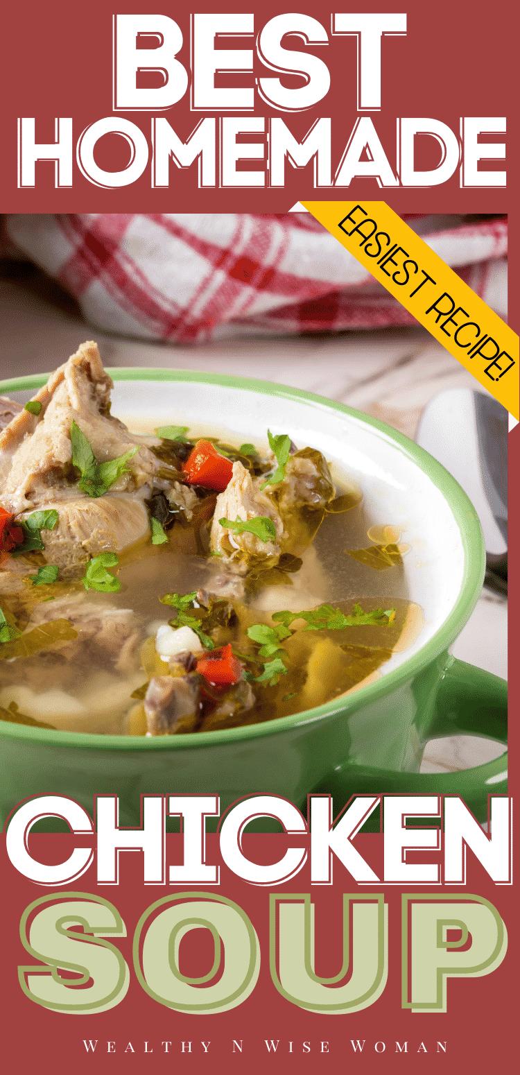 Instapot Chicken Noodle Soup