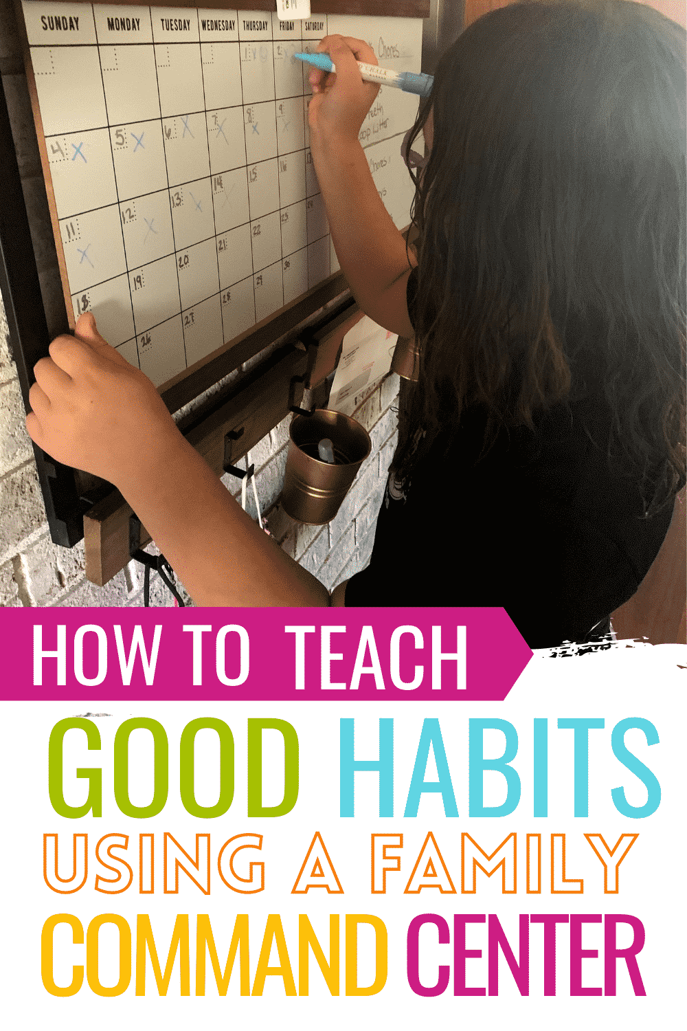 How to develop good habits in kids